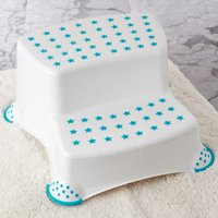 Parent's Choice 2-Tier Step Stool, Turquoise