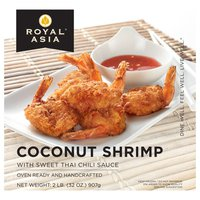 Royal Asia Coconut Shrimp with Sweet Chili Dipping Sauce, 2 lb