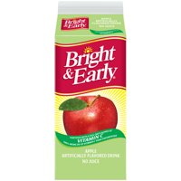 Bright & Early Apple Flavored Drink, 59 Fl. Oz.