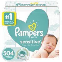 Pampers Sensitive Baby Wipes, 504 Count