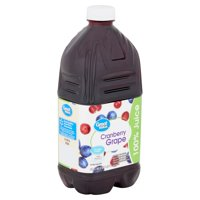 Great Value Cranberry Grape 100% Juice, 64 fl oz