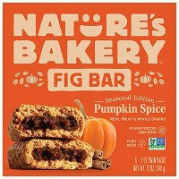 Nature's Bakery Pumpkin Fig Bars - 6ct
