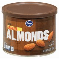 Kroger Raw Unsalted Almonds