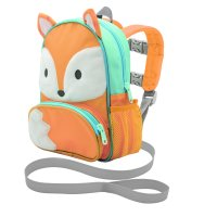 On the Goldbug Deluxe Character Backpack & Toddler Harness, Fox
