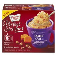 Duncan Hines Perfect Size for 1 Cake Mix Carrot