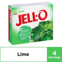 Jell-O Lime Instant Gelatin Mix, 3 oz Box