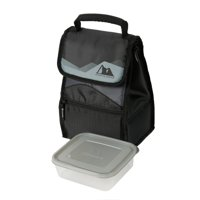 Arctic Zone Hi-Top Black Power Pack Lunch Bag
