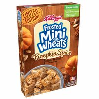 Kellogg's Frosted Mini-Wheats Breakfast Cereal Pumpkin Spice