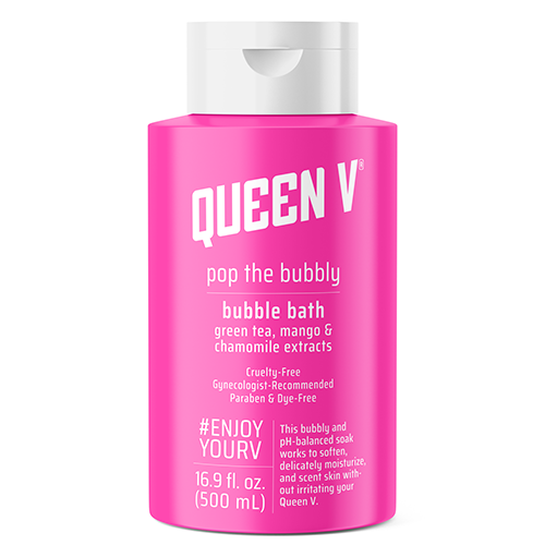 Queen V Pop The Bubbly Bubble Bath All Natural Ph Balanced 16 9 Oz From Walmart In Austin Tx Burpy Com