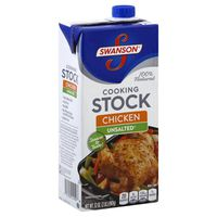 Swanson's Cooking Stock, Unsalted, Chicken