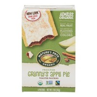 Nature's Path Toaster Pastries Frosted Granny Apple Pie - 6ct