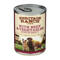 H-e-b With Beef & Vegetables Cuts In Gravy