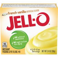 Jell-O French Vanilla Instant Pudding Mix