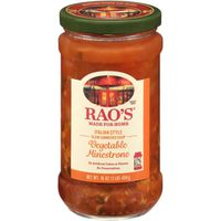 Rao's Homemade Italian Style Slow Simmered Vegetable Minestrone Soup