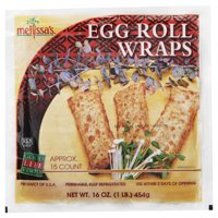 World Variety Produce Melissas  Egg Roll Wraps, 15 ea