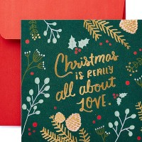 All About Love Christmas Greeting Card