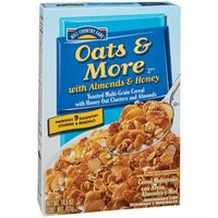 Hill Country Fare Oats And More With Honey And Almonds Cereal