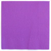 Neon Purple Party Lunch Napkins, 24ct