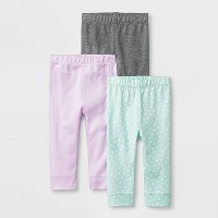 Baby Girls' Sweet Woodland 3pk Pants - Cloud Island™