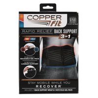 As Seen On TV Copper Fit Rapid Relief Back Wrap