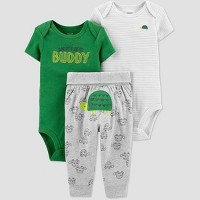 Baby Boys' Turtle Top & Bottom Set - Just One You® made by carter's Green/Gray