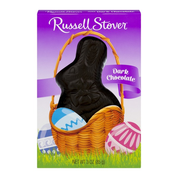 Russell Stover Solid Bunny Dark Chocolate