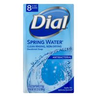 Dial Antibacterial Bar Soap, Spring Water