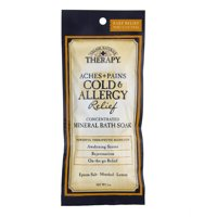 Village Naturals Therapy Aches + Pains Cold & Allergy Relief Mineral Bath Soak, 2 Oz.