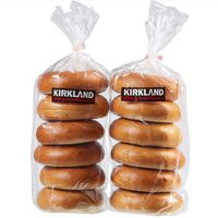 Kirkland Signature Bagels 12 Count Choose 2 Sleeves Of 6