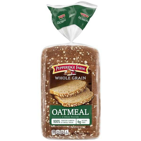 Pepperidge Farm Whole Grain Oatmeal Bread, 24oz Bag