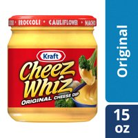 Kraft Cheez Whiz Original Cheese Dip, 15 oz Jar