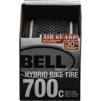 Bell Air Guard Hybrid Reflective Bike Tire, 700c x 32-45, Black