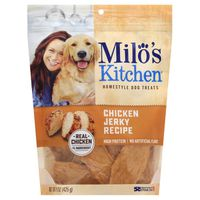 Milos Kitchen Dog Treats, Home-Style, Chicken Jerky Recipe