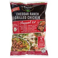 Taylor Farms Cheddar Ranch Grilled Chicken With White Meat Chopped Kit