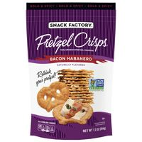 Snack Factory Pretzel Snacks, Bacon Habanero