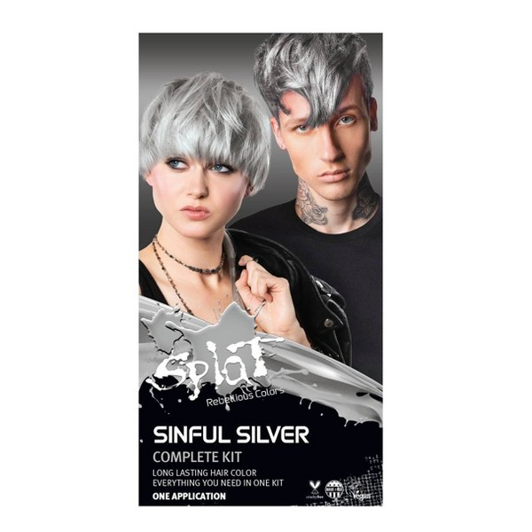 Splat Hair Color Kit - Sinful Silver