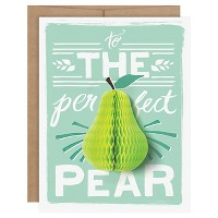 """The Perfect Pear"" Pop-up Card"