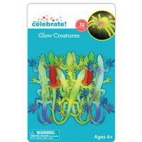 Way To Celebrate Glow In The Dark Creatures Assorted