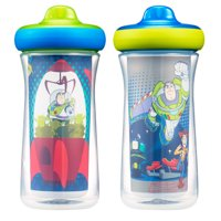 Disney Pixar Toy Story Insulated Hard Spout Sippy Cups With One Piece Lid, 9 Oz, 2 Pk