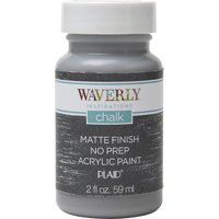 Waverly Inspirations 44633E Chalk Paint, Ultra Matte Finish, Steel, 2 fl oz