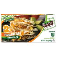 Green Chili Food Company Quesadillas, Breakfast, 2 Pack