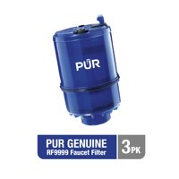 PUR GENUINE MineralClear Faucet Water Replacement Filter, RF9999-3, 3 Pack
