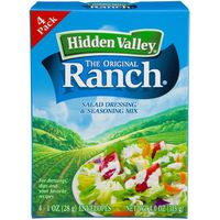 Hidden Valley Original Ranch Salad Dressing & Seasoning Mix, 4.0 Ounces