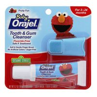 Orajel Sesame Street Fruity Fun Tooth & Gum Cleanser