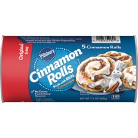 Pillsbury Cinnamon Rolls With Icing, 5 Count, 7.3 oz