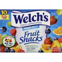 Welch's Fruit Snacks Mixed Fruit Mixed Fruit Fruit Snacks