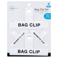 Mainstays Bag Clip, 4 Count