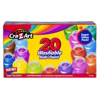 Cra-Z-Art 20 Count Super Washable Kids Paint Value Pack