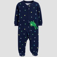 Baby Boys' Frog One Piece Pajama - Just One You® made by carter's Blue
