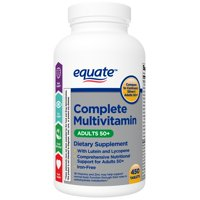 Equate Complete Multivitamin Tablets, Adults 50+, 450 Count